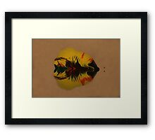 Kosmic Kreations - Watery Evolution Framed Print