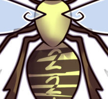 221 Bee Sticker