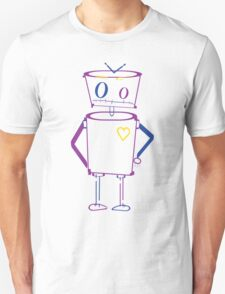 Typography Robot T-Shirt