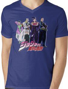 Crazy Noisy Bizarre Town - Jojo's Bizarre Adventure Mens V-Neck T-Shirt