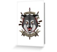 The King in the North Greeting Card