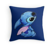 Cute stitch ! Throw Pillow