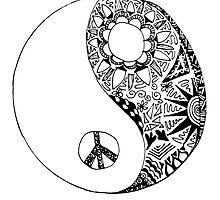 Hippie Yin Yang by alexavec