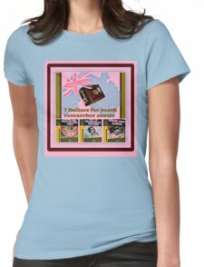health researcher Womens Fitted T-Shirt