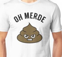 OH MERDE - black T-Shirt