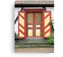 Old-Fashioned Door Canvas Print