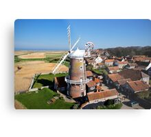 Cley Windmill - Unusual Aeriel shot Metal Print
