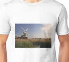 Cley Windmill - Unusual Aeriel shot Unisex T-Shirt