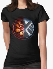 Agents of S.H.I.E.L.D or H.Y.D.R.A? Womens Fitted T-Shirt