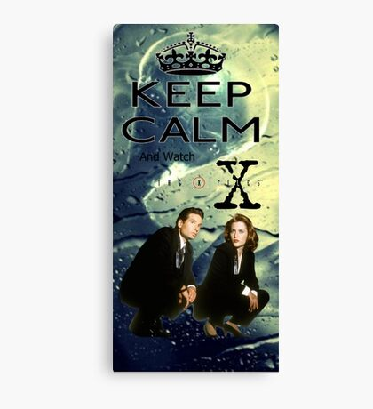 X Files 2 Canvas Print