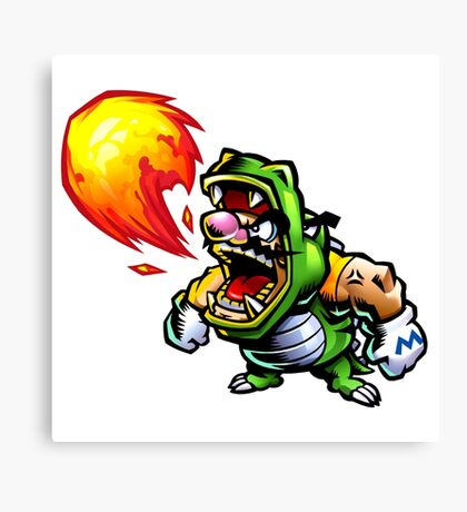Wario: Master of Disguise Canvas Print