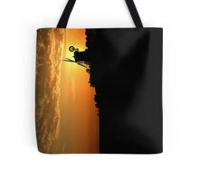Cley Windmill - Unusual Aeriel shot Tote Bag
