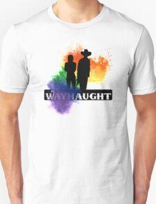Wayhaught-Rainbow Splash Unisex T-Shirt