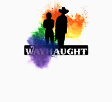 Wayhaught-Rainbow Splash Womens Fitted T-Shirt