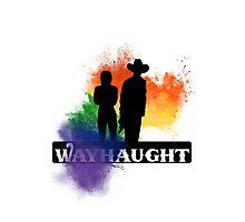 Wayhaught - Rainbow Splash Photographic Print