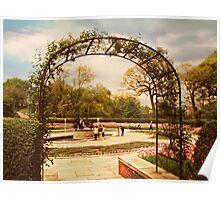 Conservatory Garden Poster