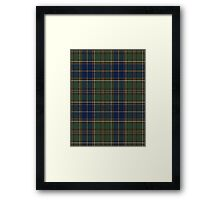 02823 City and County of Chesapeake, Virginia Tartan Framed Print