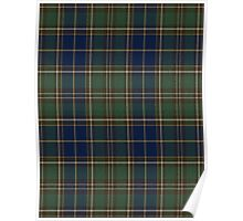 02823 City and County of Chesapeake, Virginia Tartan Poster