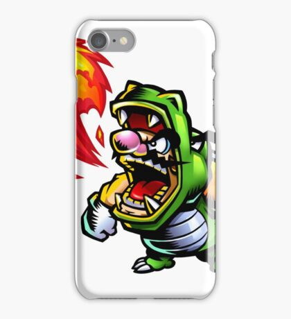 Wario: Master of Disguise iPhone Case/Skin