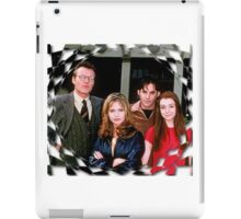 Buffy Cast Giles Xander Willow iPad Case/Skin