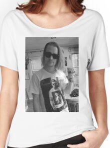 Macaulay Culkin wearing Ryan Gosling wearing Macaulay Culkin shirt Women's Relaxed Fit T-Shirt