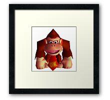 Donkey Kong 64 sprite Framed Print