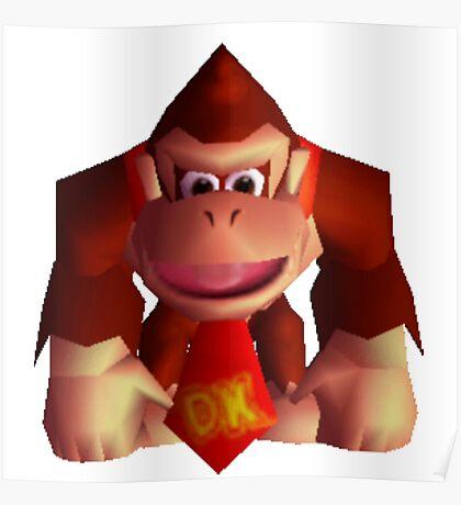 Donkey Kong 64 sprite Poster