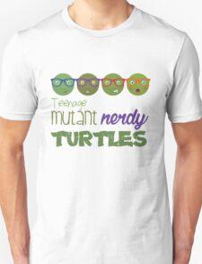 FunnyBONE Nerdy Turtles Unisex T-Shirt