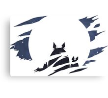 Totoro Dark Moon [HD] Canvas Print