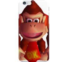 Donkey Kong 64 sprite iPhone Case/Skin
