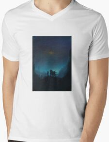 Brass Tower... Mens V-Neck T-Shirt