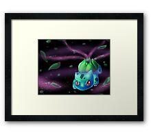 Bulbsaur Framed Print