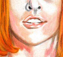 Leeloo Dallas  Sticker
