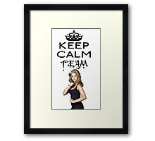 Buffy Team Buffy Framed Print