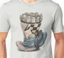 Playing chess hat, Chess themed Unisex T-Shirt