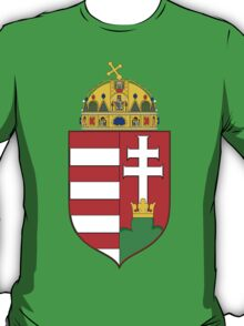 Coat of Arms of the Kingdom of Hungary T-Shirt
