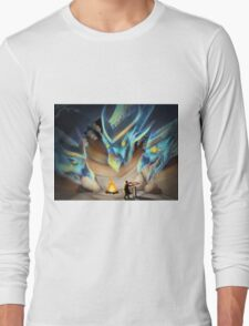 3 Headed Dragon Long Sleeve T-Shirt