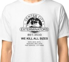 WE KILL ALL SIZES - Crimewave Classic T-Shirt