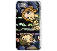 X-Files - Spooky Scary Scully  iPhone Case/Skin