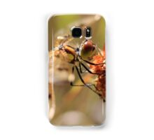 Black-tailed Skimmer Dragonfly II Samsung Galaxy Case/Skin