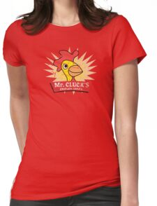 Have a Cluckity-Cluck-Cluck Day Womens Fitted T-Shirt
