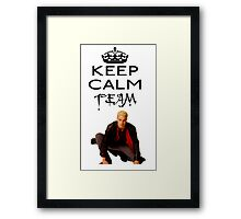 Buffy Team Spike Framed Print