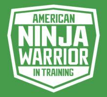 American Ninja Warrior - White Kids Tee