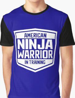 American Ninja Warrior - White Graphic T-Shirt