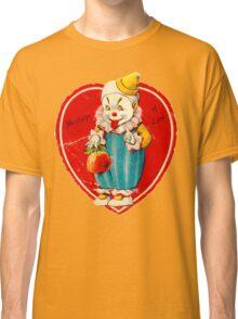Vintage Valentine evil clown Classic T-Shirt