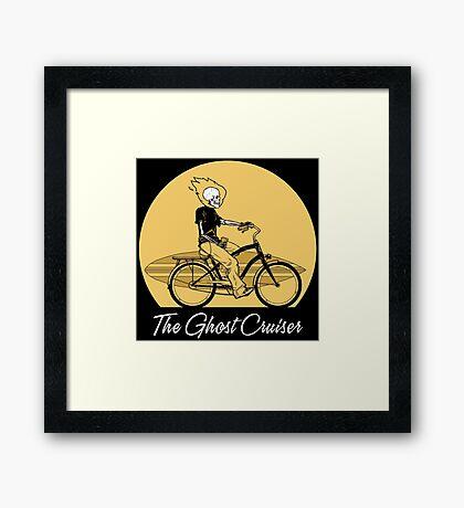 The Ghost Cruiser Framed Print