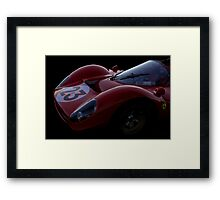 1967 Ferarri 330 P3/4 - Sensual Speed Full Frontal Framed Print