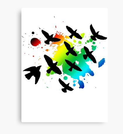 bird collection Canvas Print
