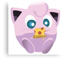 Pokemon pizza party- Jigglypuff Canvas Print
