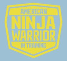 American Ninja Warrior - Yellow One Piece - Short Sleeve